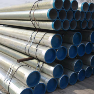 API 5CT K55 Slotted Liner Pipe with Threads Coupling pictures & photos