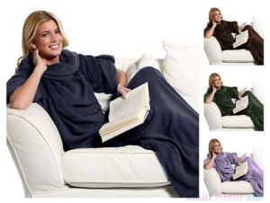 2016 Newst Snuggie TV Blanket with Sleeves pictures & photos