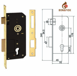 High Quality Door Mortise Lockbody 6005 pictures & photos
