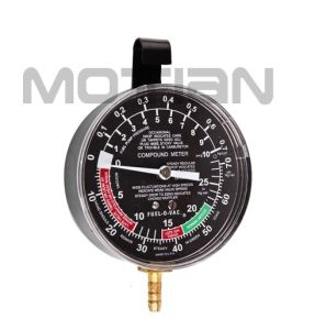3.5 Inch Standard Stainless Steel Case with Hook Bourdon Tube Pressure Gauge pictures & photos