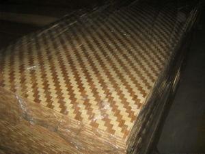 Braided Bamboo Veneer/Woven Bamboo Veneer/Bamboo Veneer Basket Weave pictures & photos