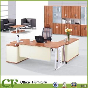 Corner Computer Desk, Executive Computer Table Sandal Wood Color (CD-89910) pictures & photos