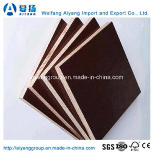 Aiyang Waterproof Film Faced Plywood for Construction pictures & photos