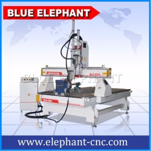 Jinan Homemade Type3 Software Multi Spindle 3D CNC Router Carving Machine pictures & photos