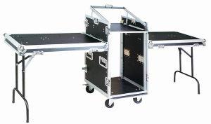 3-Door Rack Flight Case with Wheels pictures & photos