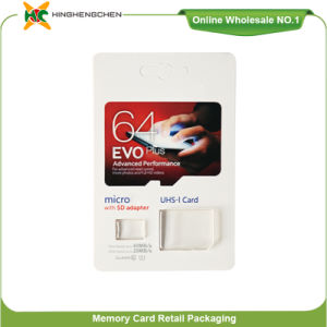 High Speed Class 10 Micro SD Card 64GB Wholesale Memory Card for Samsung Evo Plus with Adapter pictures & photos