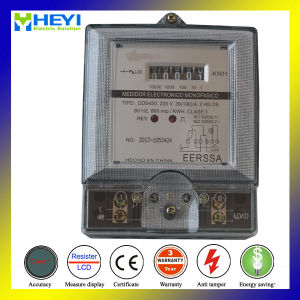 Kwh Meter Single Phase Two Wire Register Type Transformer Type pictures & photos