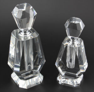 High Quality Glass Crystal Perfume Bottle Craft pictures & photos