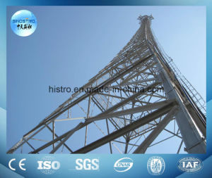 Sinostro Galvanized Telecommunication Tower with Antenna Support pictures & photos