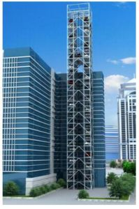 Vertical Lifting Parking System-Tower Parking with Ce pictures & photos