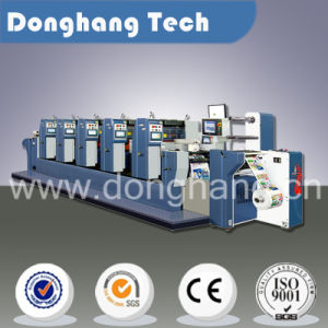 High-Precision Label Printing Machine with Cold Foil