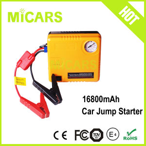 2016 New Product Car Accessories 2 in 1 Emergency Tool Car Jump Starter with Air Compressor
