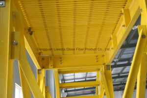 High Strength FRP Structural Profiles, FRP/GRP/Fibreglass Pultruded Profiles pictures & photos