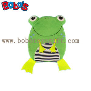 Ce Approved Plush Frog Hot Water Bottle Cover pictures & photos