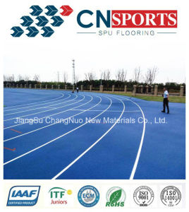 Iaaf Approved PU Rubber Running Track for Sports Flooring pictures & photos