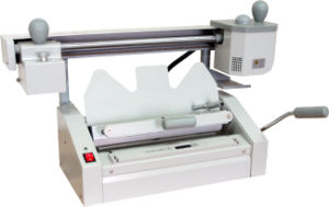 Tabletop Manual Perfect Binding Machine Perfect Binder pictures & photos