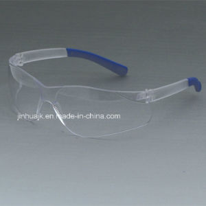 Safety Glasses (JK12006-Blue+Clear) pictures & photos