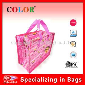 Custom Small Cartoon Zipper Bag for Shopper Packaging Bag