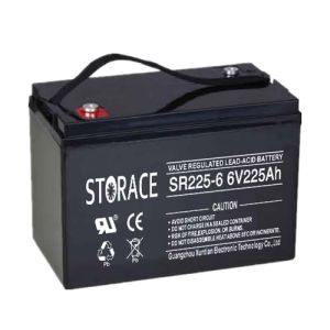 Sealed Lead Acid Battery SR225-6 6V225ah AGM Industrial Battery pictures & photos