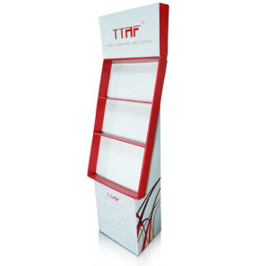 Point of Sales Corrugated Display, Standing Display Unit for Living Things pictures & photos