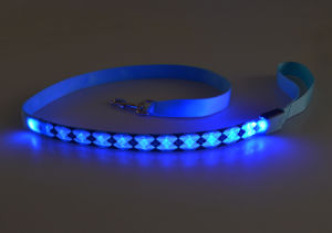 2017 New Hot Selling Blue LED Lighted Comfort Dog Leash pictures & photos