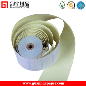 White Pink Green Blue 3 Ply Carbonless Paper Roll pictures & photos
