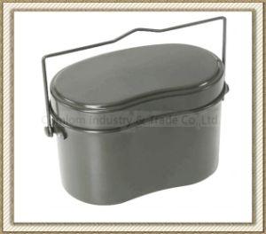 Camping Aluminum Military Mess Tin Set (CL2C-DJG1810-3B) pictures & photos