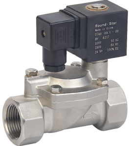 Air Water Stainless Soleoid Valve pictures & photos