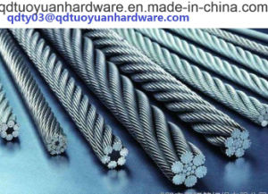 Factory Supplier 1X9 7X19 6X19 1X19 7X7 L Wire Rope pictures & photos