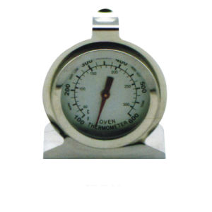 Stainless Steel Case Refrigerator Freezer Thermometer
