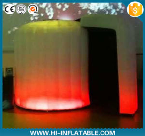 2016 Remantic Inflatable Wedding Photo Booth with LED Light