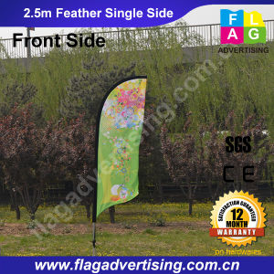 Fast Delivery No MOQ Custom Feather Flag Banner with Pole pictures & photos