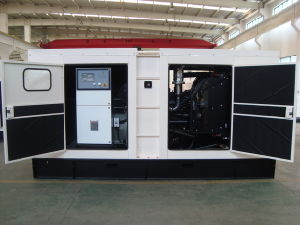 150kVA Diesel Generator Set with Perkins Engine of Soundproof Type