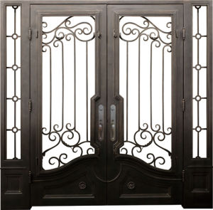 Customozied Hand-Forged Wrought Iron Gate pictures & photos