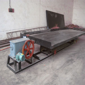 China Made Concentrating Shaking Table for Alluvial Gold Ore pictures & photos