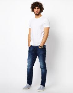 Wholesale Men Summer Plain Tee Shirt pictures & photos