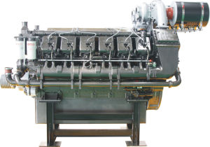 High Speed Diesel Engine 1093kw-1439kw for 60Hz 1800rpm Generator pictures & photos