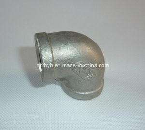 Stainless Steel 90 Deg Elbow Pipe Fitting with Thread Ends pictures & photos