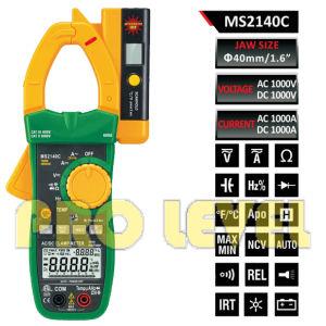 Temperature Digital AC & DC Clamp Meter (MS2140C) pictures & photos