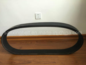 Hm Top Cogged Variable Speed V Belt with Aramid Cord for John Deer Harvester Machine pictures & photos