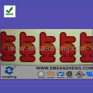 Custom Logo Print Transparent Self Adhesive Weather Resistant Full Color Stickers pictures & photos