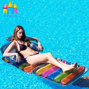 Hot Selling Inflatable Air PVC Foldable Water Floating Toy Sofa Lounge Bed Beach Mats Floats pictures & photos
