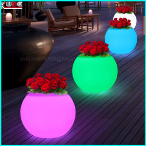 Light up Flower Pot Plastic Flower Pots Wholesale Trays pictures & photos