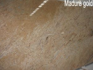 India Madura Gold Granite Slabs for Countertops and Vanity Tops pictures & photos