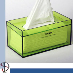 Newest Professional Exquisite Acrylic Box Tissue Cases