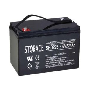 Deep Cycle Battery SRD225-6 6V225Ah for UPS (SRD225-6) pictures & photos