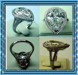 Hao Stone Ring in Stainless Steel (YC-2005)