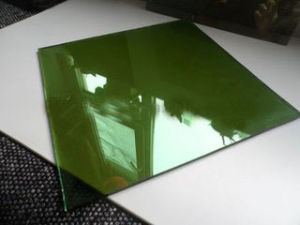 6mm Dark Green Reflective Glass for Decorative Glass