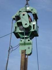 Crane Type Electric Vibro Pile Hammer RT-90A