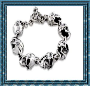 Sell Like Hot Cakes Ghost 316 Stainless Steel Bracelet (YC-10019)